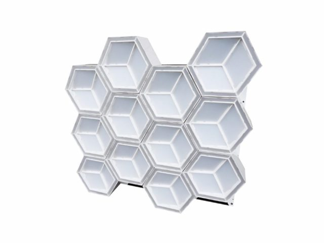 Hexagon 3D Light