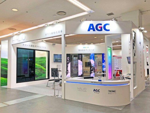 スマートビルディングEXPO2019関西展「AGC+AdArt」ブース設計施工