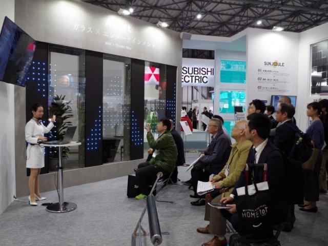 スマートビルディングEXPO2019東京展「AGC+AdArt」ブース設計施工