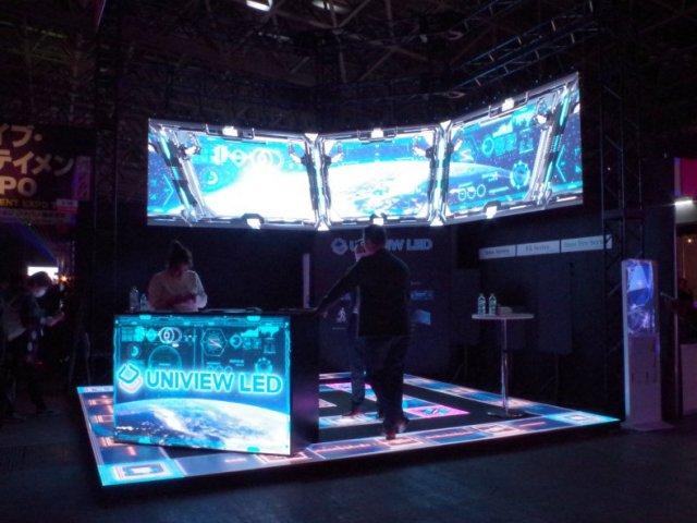 ライブエンターテインメントEXPO2020「UNIVIEW LED」ブース設計・施工